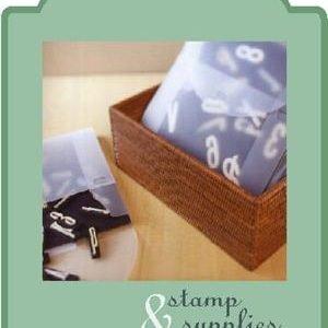 Stamp & Stamp Supplies Storage