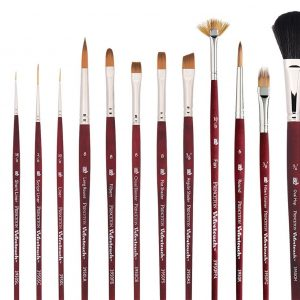 Princeton Series 3950 Velvetouch - All Media Synthetic
