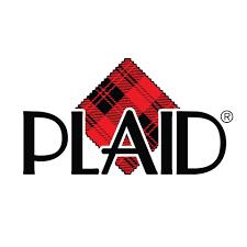 Plaid Foam Stamps